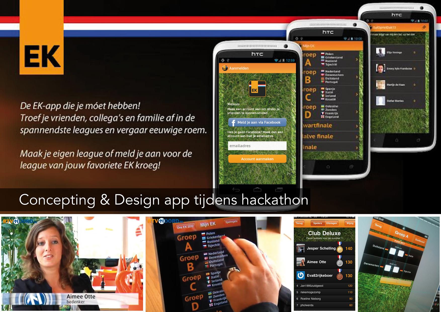 Ons EK – app concept